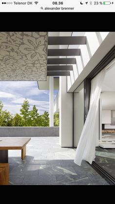 Modern Villa Design - Incredible SU House by Alexander Brenner featured on Architecture Beast 06 Alexander Brenner, Concrete Porch, Modern Villa Design, Interior Architecture, Interior Design, German Architecture, Residential Architecture, Amazing Architecture, Sweet Home