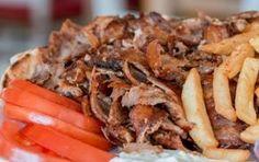 Σπιτικό σουβλάκι με γύρο χοιρινό