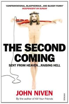 The Second Coming by John Niven, http://www.amazon.co.uk/dp/B007IVBPUI/ref=cm_sw_r_pi_dp_kUJmsb170X0HJ