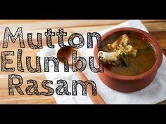 Recipe for mutton elumbu rasam. Mutton broth simmered to a thick soup with home made… Rice Recipes, Indian Food Recipes, Soup Recipes, Chicken Recipes, Vegetarian Recipes, Cooking Recipes, Gluten Free Chilli, Gluten Free Rice, Coconut Milk Chicken
