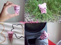 Abby's Amigurumi ♥ // Pattern Head: R1: Ch 2, 7 sc on the 2nd ch from...