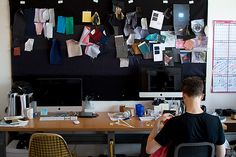 garment designer workspace