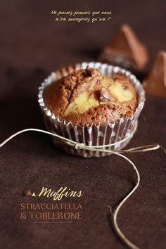 Muffins Toblerone stracciatella MUFFINS TOBLERONE STRACCIATELLA