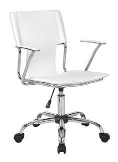 Trento Designer Armchair with Chrome Frame