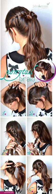 hairstyles step by step 2015 2016 http://www.yoummisr.com/hairstyles-step-step-2015-2016/