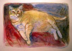 unfinished portrait, oils on paper