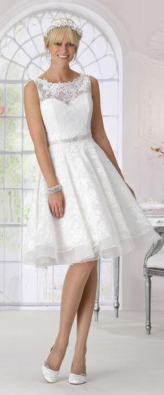 Très Chic 2017 Short Wedding Dress Style 9048
