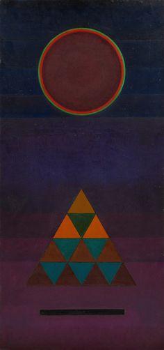 Wassily Kandinsky. Schluss (Conclusion). 1926.
