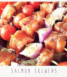 salmon recipe, fish, food  by diary sketches
