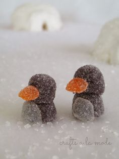 These gumdrop penguins are too cute!!