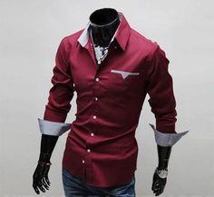 2017 New Fashion Men Shirt
