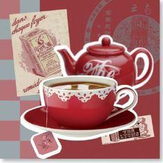Cuisine vintage thé