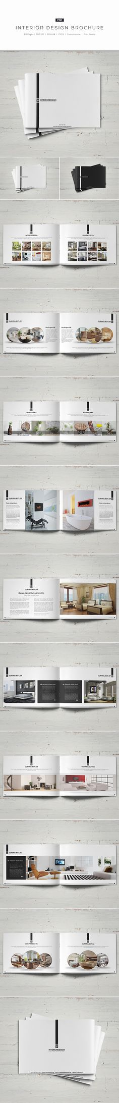 Interior Design Brochure on Behance