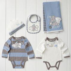 $49 baby disney Dumbo | Disney Dumbo 5 Piece Layette Set - Blue | Target Australia