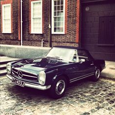 Mercedes SL Pagoda - rumours of a lovely car event September 2014 - Oliver's Mount, Scarborough - our dream drive ...