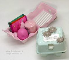 Stampin' Up! Demonstrator Pootles - Egg Boxes but no Eggs Included