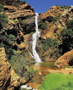 Witpoortjie Waterfall - Gauteng, South Africa by South African Tourism, via Flickr