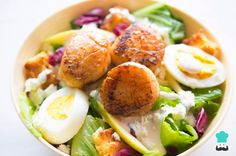 Seared Scallops Salad Recipe