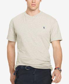 Polo Ralph Lauren Big & Tall Men's Jersey V-Neck T-Shirt