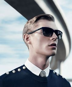 Janis Ancens for Dior Homme SS13