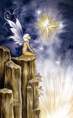 Amy Brown Source of Magic Fairy Print -- Limited Edition