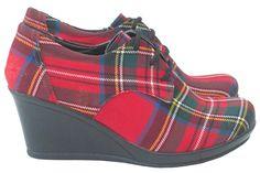 Royal Stewart Tartan Shoes