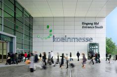 Chefs von Ford, Toyota und e.Go wollen IAA in Köln Car Park Design, Parking Design, Art Cologne, Exhibition Plan, London Design Week, Typography Design, Lettering, Retail Signage, Construction Drawings