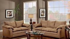 Attrayant Sofa And Loveseat Part Of The Seven Piece Special That Includes Coffee  Table, Two End