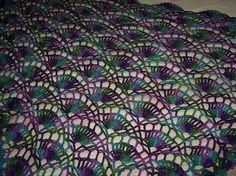 Festival Shawl by Lyn Robinson free crochet pattern on Ravelry at http://www.ravelry.com/patterns/library/festival-shawl