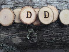 50 qty BRANDED 1.5 to 2 wood slices tree branch slices by JTLWoods