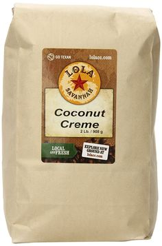 Coconut Crème, Whole Bean, 2 Pound ** More details can be found here : Fresh Groceries