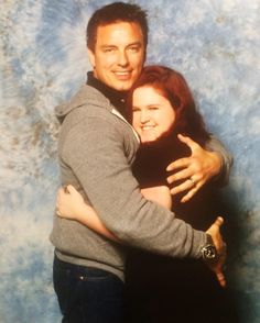 I can't stop obsessing over this picture of me and @Team_Barrowman from this weekend!