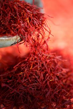 In Italy we produce even #saffron, the popular spice which turns everything it touches into a pretty golden color. In Val d'Orcia and in Abruzzo region we cultivate Crocus just about to made Saffron, the first ingredient of #risotto alla milanese.