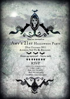 21st Birthday Invitation by Kate Radfurly 21st Birthday Invitations, 21st Party, Birthday Ideas,