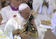 El papa Francisco puso su vida bajo la protección de la Virgen de Aparecida | Francisco | minutouno.com