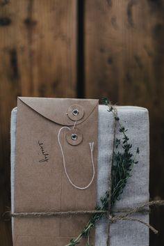 Local Milk | muslin wrapped gifts ++ Kinfolk Herbal Infusions Workshop Pt I: Satsuma Herb de Provence Salt  Saffron Lavender Honey