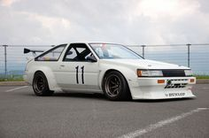 TRD N2 AE86 Levin on RS Watanabes