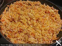 Plov - russische Reispfanne mit Hähnchen