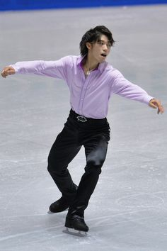 Takahito Mura of Japan short program  2013/2014 NHK Trophy, Mens Figure Skating / Ice Skating dress inspiration for Sk8 Gr8 Designs.