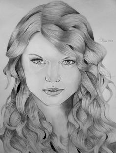 Taylor Swift by Thessa-drawings on DeviantArt