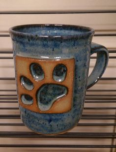 Handmade ceramic pottery coffee mug ceramic tea by PlayinMud420