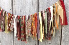 Thanksgiving fabric garland, 3 foot rustic party banner, Autumn wedding backdrop photo prop, Fall home mantle decor or wall hanging – decoration Party Banner, Fall Banner, Fall Garland, Diy Thanksgiving, Thanksgiving Decorations, Rustic Thanksgiving Decor, Thanksgiving Chalkboard, Fall Home Decor, Autumn Home