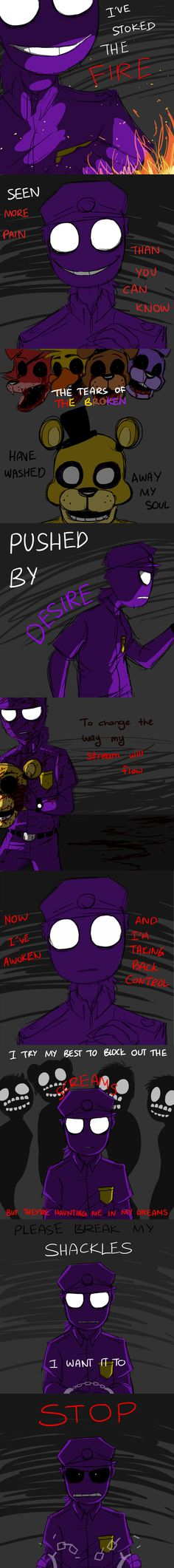 I remember this one :( - Purple Guy FNAF