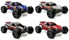 Traxxas 37076 Rustler VXL: Stadium Truck Ready-To-Race Trucks Scale), Colors May Vary Rustler VXL combines Velamen extreme brushless horsepower with the Traxxas Rustler, Electronic Speed Control, 1 10 Scale, Circuit Design, New Drivers, Full Throttle, Radio Control, Charger, Racing