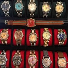 """""""Selling Day-Dates at the show... #Rolex #hongkong"""""""