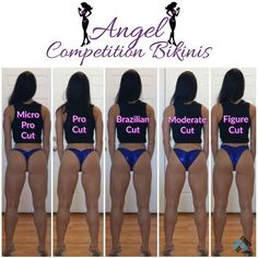 Back Styles Modeled by Kara WNBF Bikini Pro and Nationally Qualified NPC Bikini Competitor Kara Corey models Angel Competition Bikinis back coverage options including our micro pro cut! Which Bottom Cut are you wearing to your next competition! Bikini Prep, The Bikini, Bikini Beach, Fitness Motivation, Fitness Goals, Bikini Competition Suits, Bodybuilding Competition, Bikini Workout, Bikini Fitness