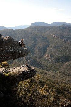 'The Balconies' in the Grampians National Park, Victoria, Australia