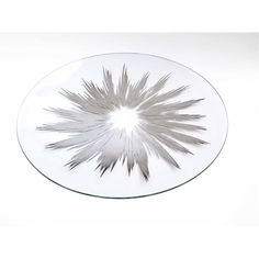Bent Round Oval Glass Tray Atomic Starburst Mid Century MOD Dorothy... ($68) ❤ liked on Polyvore featuring home, kitchen & dining, serveware, oval tray, sterling punch bowl, oval serving tray, glass serving tray and heart shaped tray