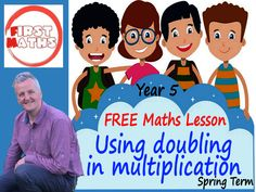 YouTube Using doubling in multiplication Maths Presentation - FREE Year 5 Spring Term