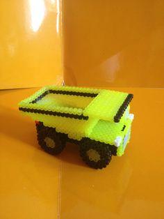 Camión de cantera 3D hama beads